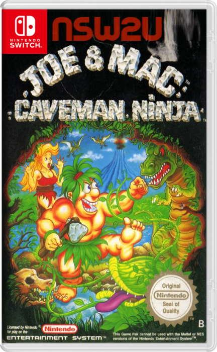 Johnny Turbos Arcade Joe and Mac Caveman Ninja Switch NSP XCI NSZ
