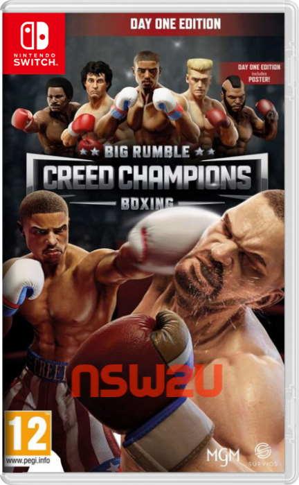 Big Rumble Boxing Creed Champions Switch NSP XCI NSZ