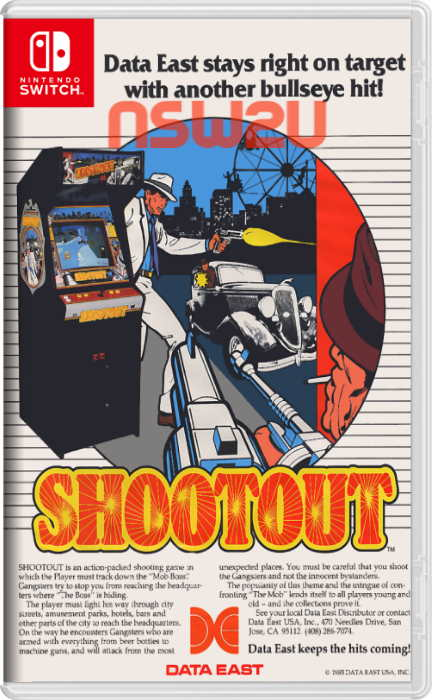 Johnny Turbos Arcade Shoot Out Switch NSP XCI NSZ