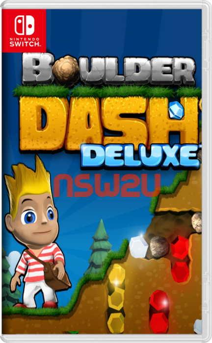 Boulder Dash Deluxe Switch NSP XCI NSZ eShop