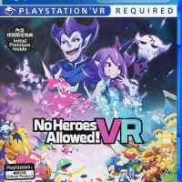 No Heroes Allowed! VR PS4 PKG