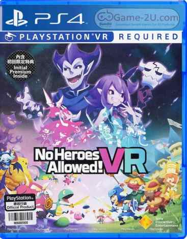 No Heroes Allowed VR PS4 PKG