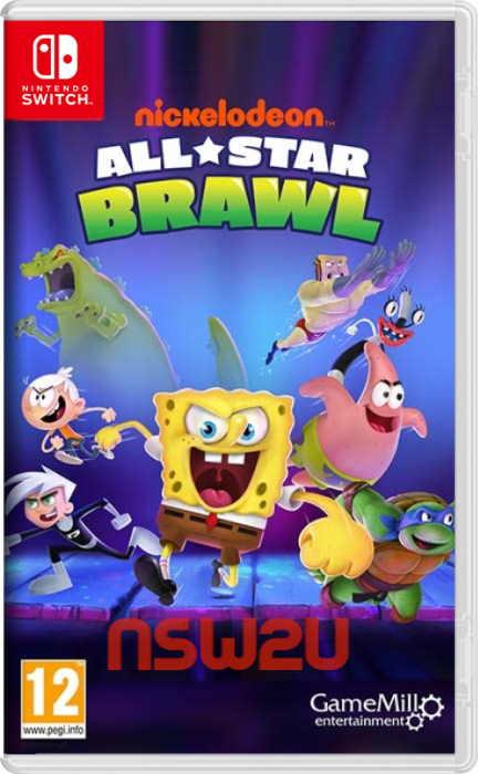 Nickelodeon All-Star Brawl Switch NSP XCI NSZ