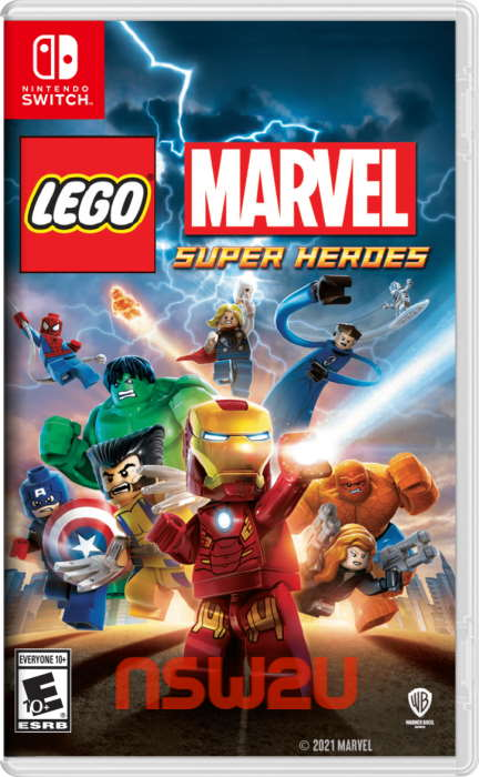 LEGO Marvel Super Heroes Switch NSP NSZ