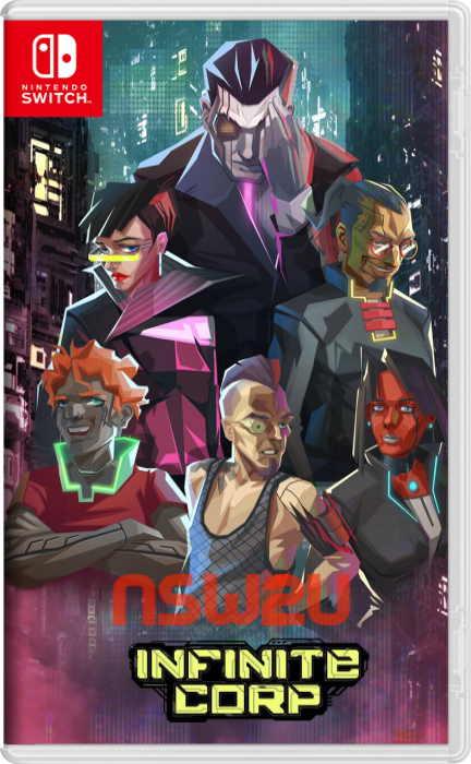 InfiniteCorp Cyberpunk Card Game Switch NSP XCI NSZ
