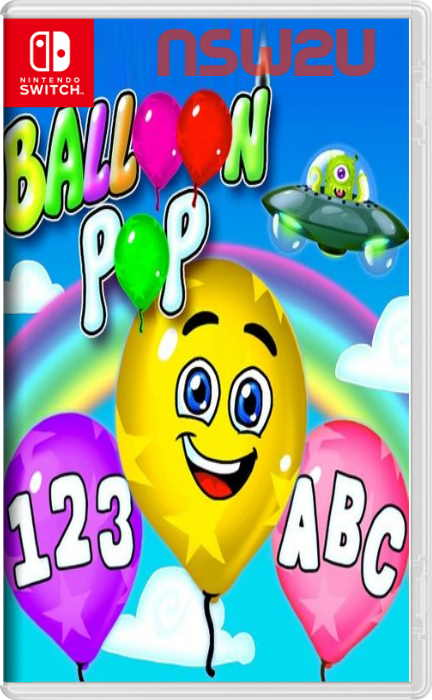 Balloon Pop - Learning Letters, Numbers, Colors, Game for Kids Switch NSP XCI NSZ