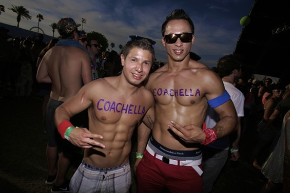 Image result for shirtless frat guys at a festival
