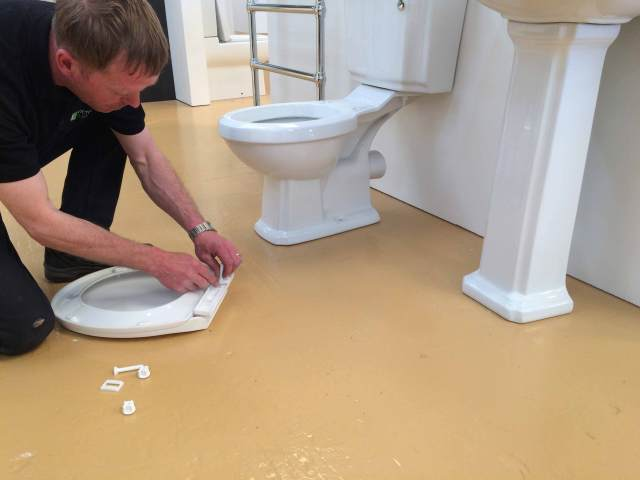 Replace Any Toilet Seat In 29 Minutes  Victorian Plumbing