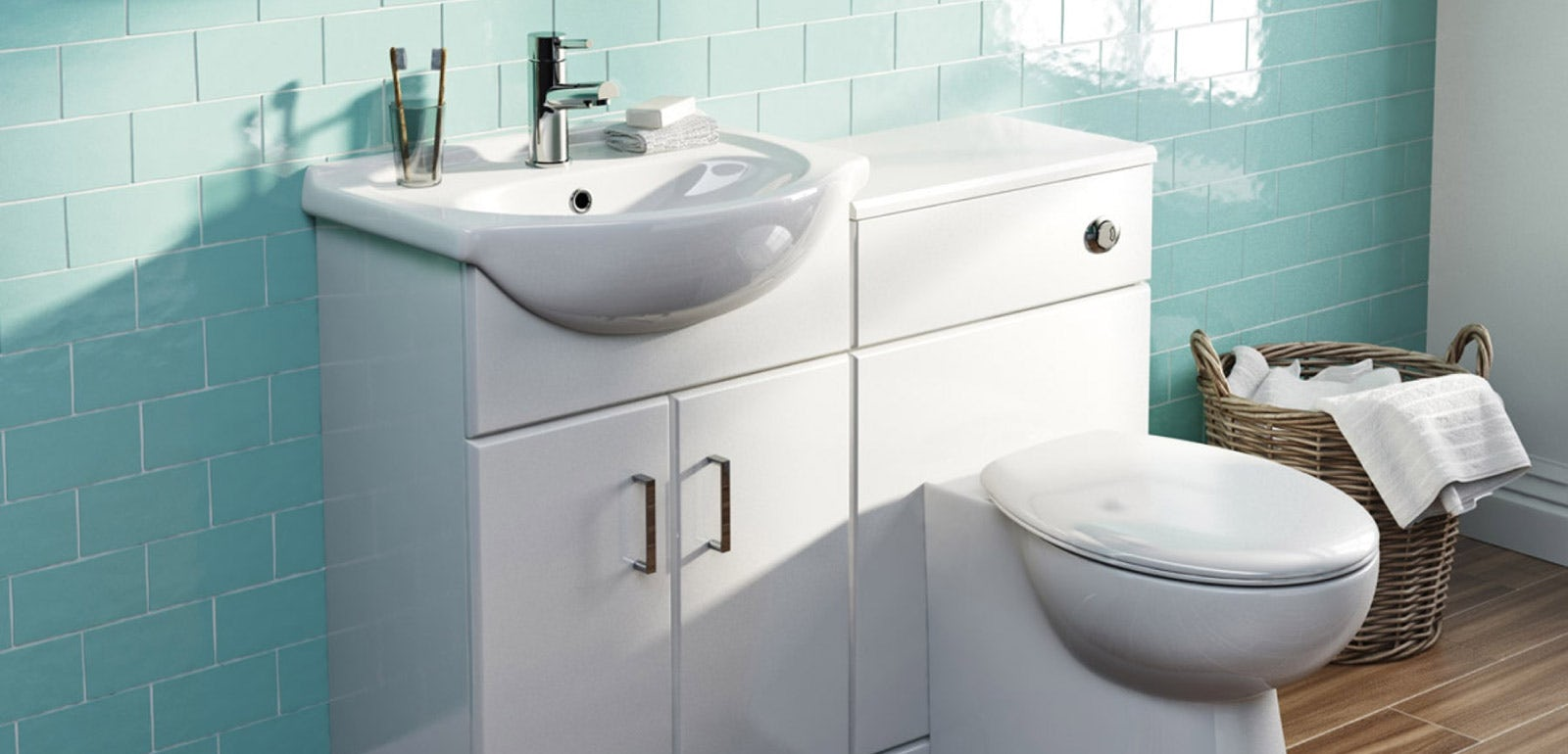 how to swap your toilet and basin for a