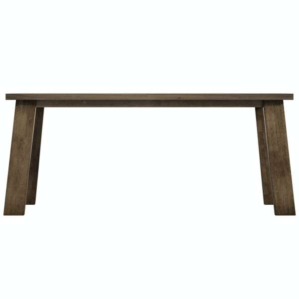 Lincoln Walnut Dining Table With 4 X Hudson Light Cyan