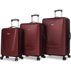 Steve Madden Antics 3-Pc. Hardside Luggage Set