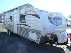 Used RV Parts 2011 CHEROKEE GREY WOLF 28BH 28 FT WITH 1