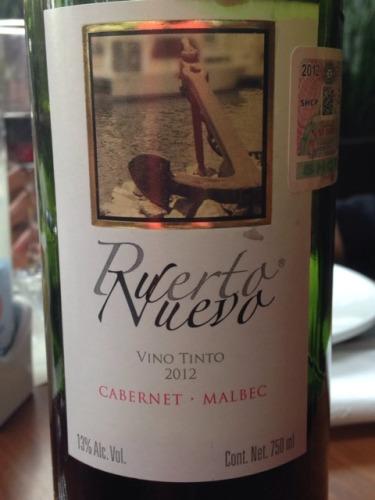 L A Cetto Puerto Nuevo Cabernet Malbec 2012 Wine Info