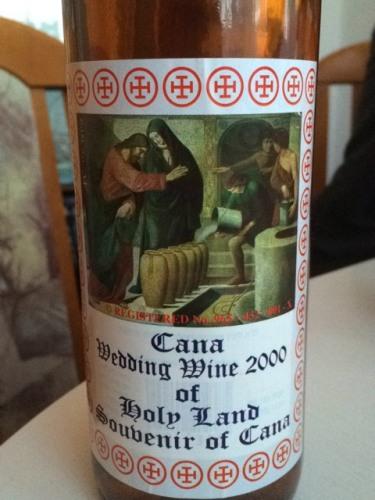 Ch 226 Teau Cana Wedding Wine Of Holy Land Souvenir Of Cana