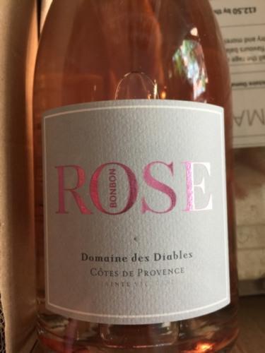 Des Diables Ctes De Provence BonBon Rose 2014 Wine Info