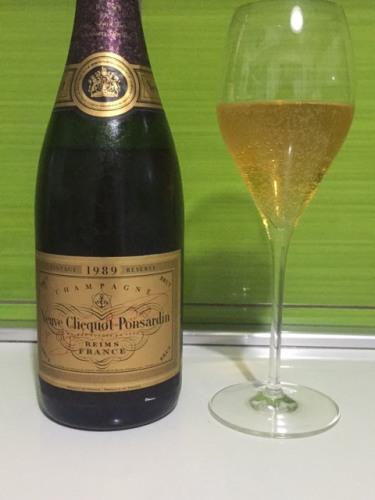 Veuve Clicquot Champagne Rare Vintage Brut 1989 Wine Info
