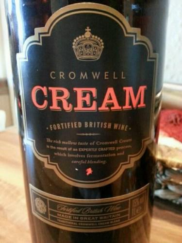 Cromwell Cream Fortified Wine Info