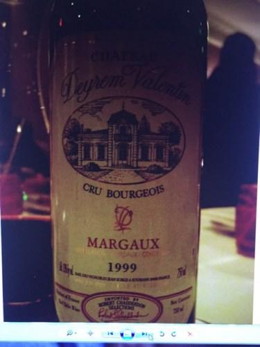 Robert Giraud Margaux Chteau Deyrem Valentin 2013 Wine Info