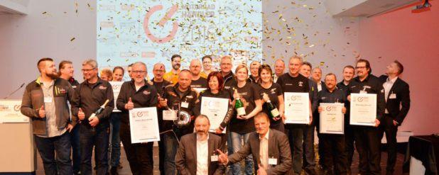 Die Gewinner des »bike und business«-Awards »Motorradhändler des Jahres« aus dem vergangenen Jahr!