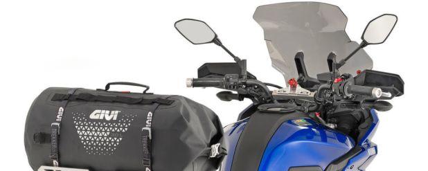 Die Givi-Produkte aus der Serie Ultima-T machen sowohl auf dem Bike als auch auf dem Bikerrücken eine gute Figur.