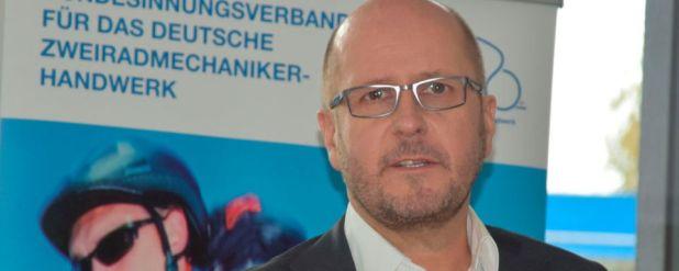Frank Döring, Bundesinnungsmeister des Bundesinnungsverbandes für das Deutsche Zweiradmechaniker-Handwerk.