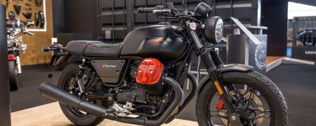 Für den Weltmarkt wird Moto Guzzi nur 1.921 Exemplare der V7 III Carbon produzieren.