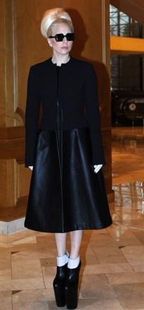 Lady Gaga in Calvin Klein Collection
