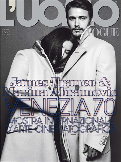 James Franco & Marina Abramovic - Vogue.it