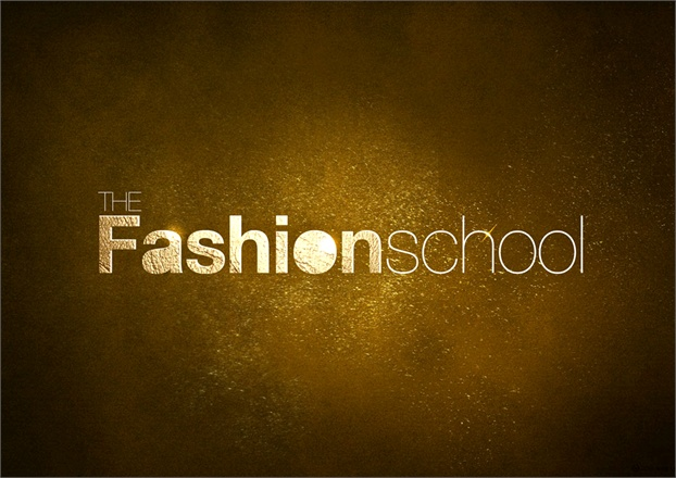 The Fashion School   Vogue it Logo