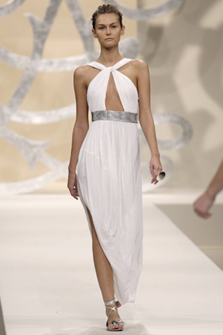 Damian Yee for Guy Laroche SS 2007 evening dress Damian Yee for Guy Laroche SS 2007 evening dress
