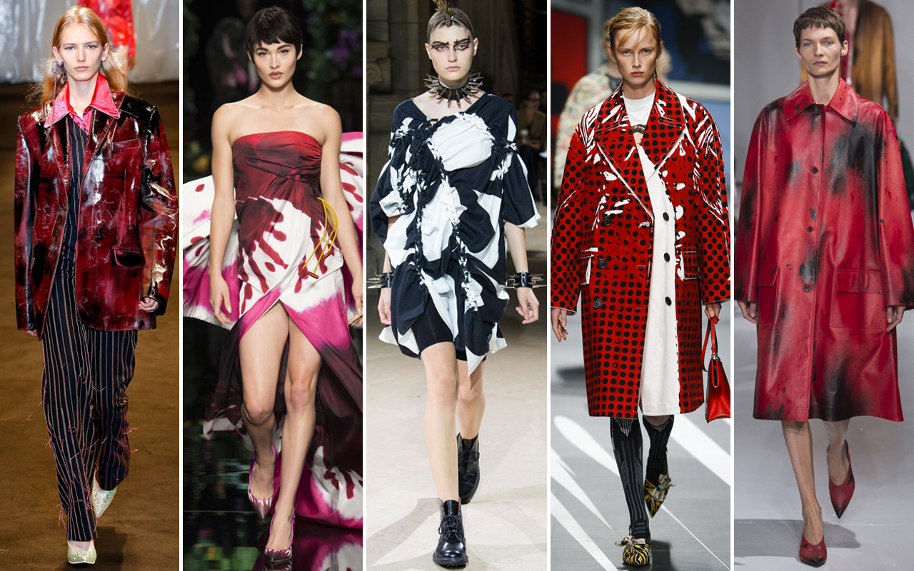 Risultati immagini per Tendenze Moda Primavera Estate 2018: stampe a macchie