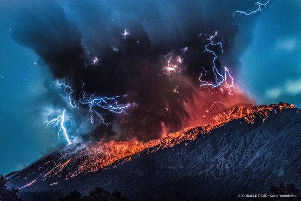 Sakurajima's Minamidake crater