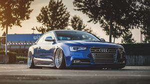 Audi full hd  hdtv  fhd  1080p wallpapers hd  desktop backgrounds         Preview wallpaper audi  s5  tuning  wheels  side view