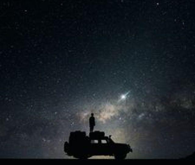 Preview Wallpaper Stars Sky Space Car