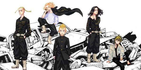 Le manga Tokyo Revengers arrive en animé