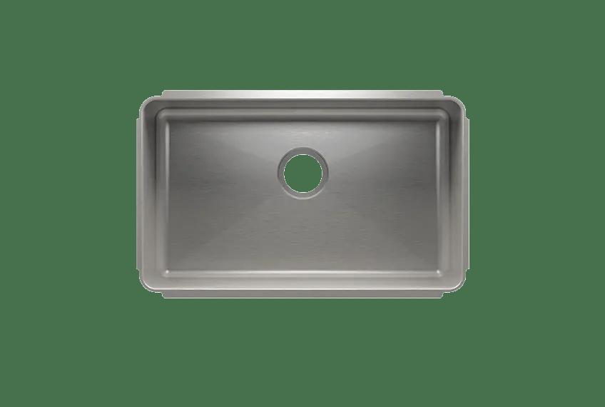 classic 003211 undermount stainless steel kitchen sink 27 16 10