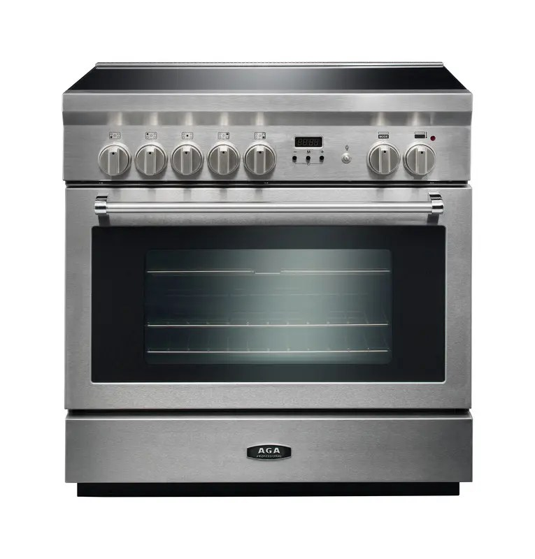 Professional 36 Induction Stainless Steel with Chrome trim