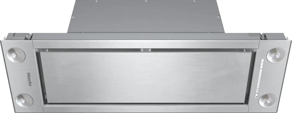 DA 2698 - Insert ventilation hood with energy-efficient LED lighting and backlit controls for easy use.