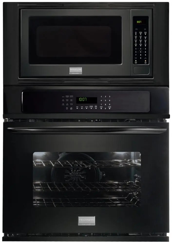 electric wall oven microwave combination