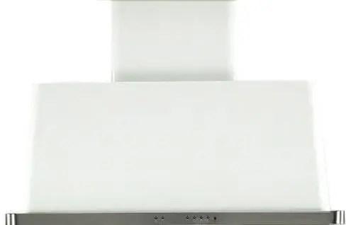 Majestic 40 Inch White Wall Mount Convertible Range Hood