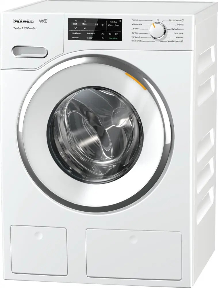 WWH 660 WCS TwinDos & WiFiConn@ct - W1 Front-loading washing machine with TwinDos and @home for smart laundry care and maximum convenience.