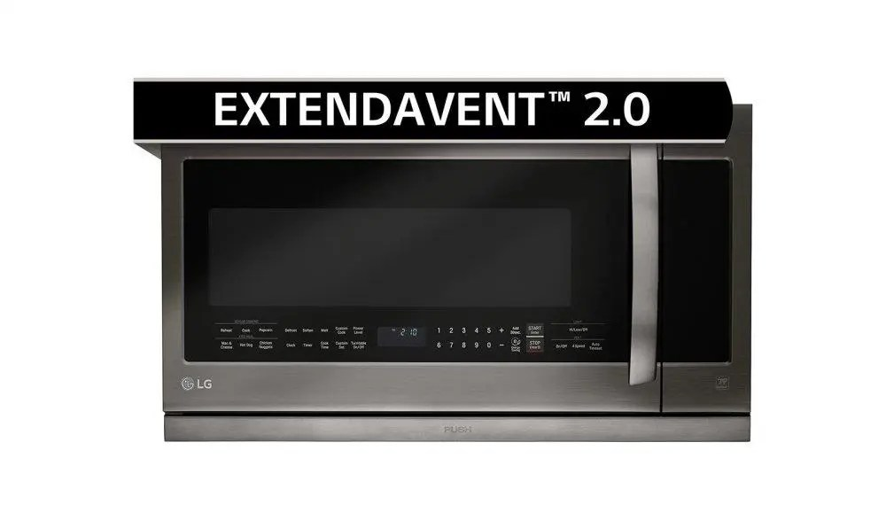 Black Stainless Steel Series 2.2 cu.ft. Over-the-Range Microwave Oven
