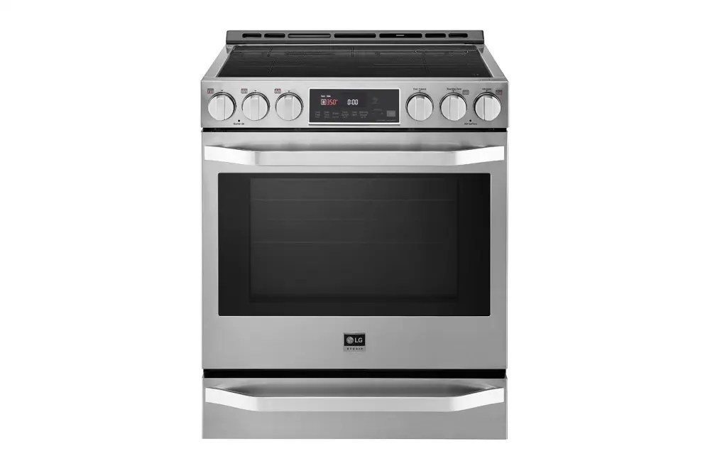 STUDIO 6.3 cu. ft. Induction Slide-in Range with ProBake Convection® and EasyClean®
