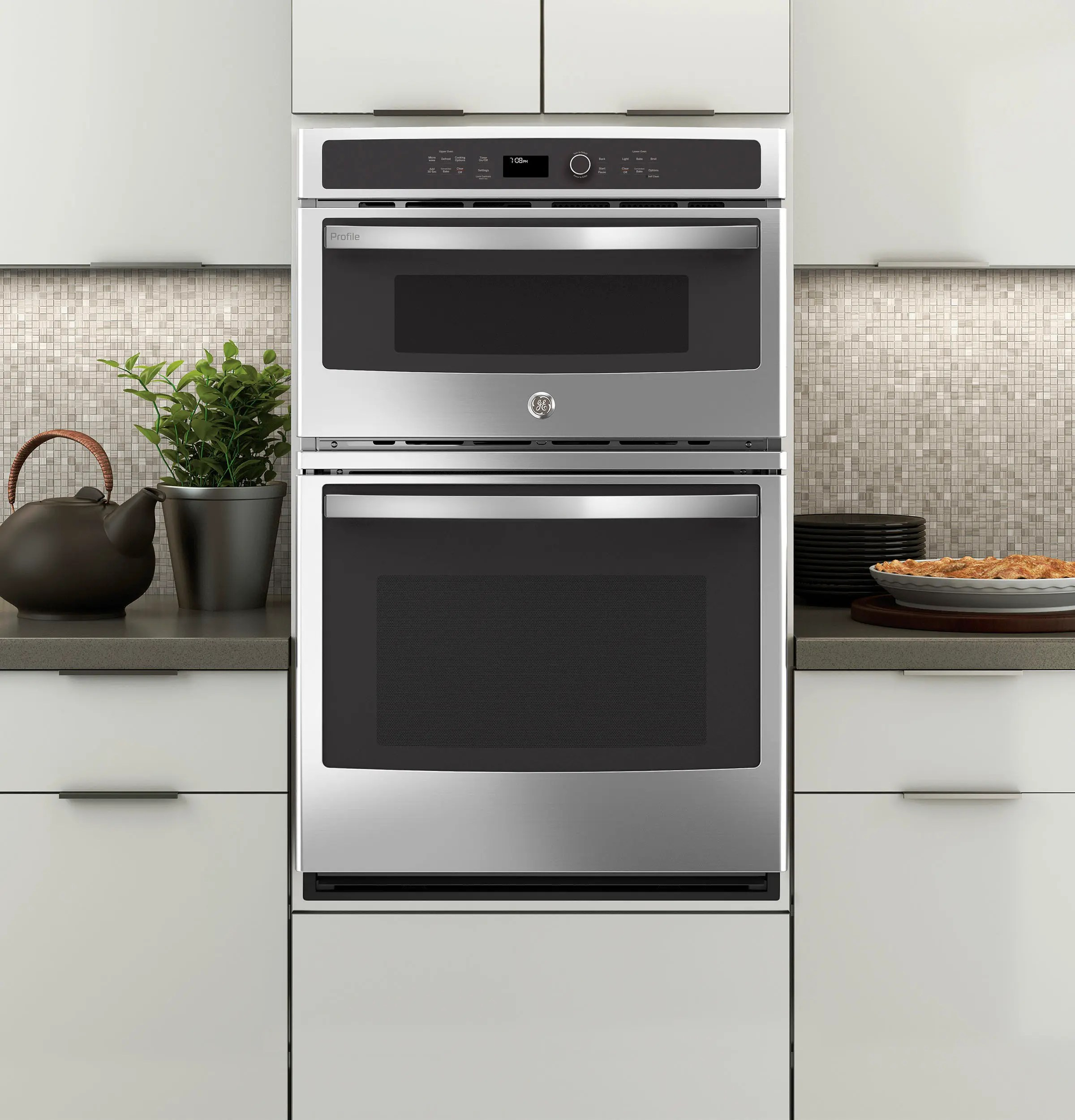 ge profile 27 built in combination convection microwave convection wall oven