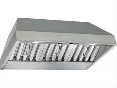 "28-3/8"" Stainless Steel Built-In Range Hood with 290 Max CFM Internal Blower"