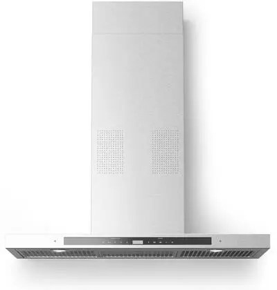 Collegare Wall Mount Range Hood with 560 CFM i-Hood Music Player via Bluetooth Digital Integrated Radio Mesh Filters in Stainless Steel