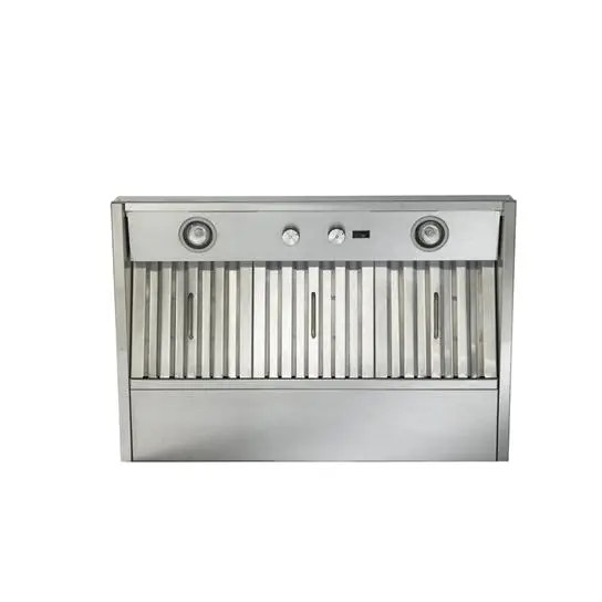 """40-3/8"""" Stainless Steel Built-In Range Hood with 290 Max CFM Internal Blower Photo #2"""