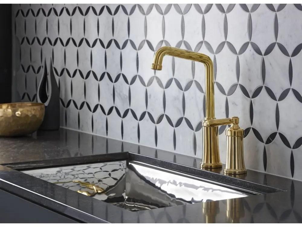 bar faucet unlacquered brass