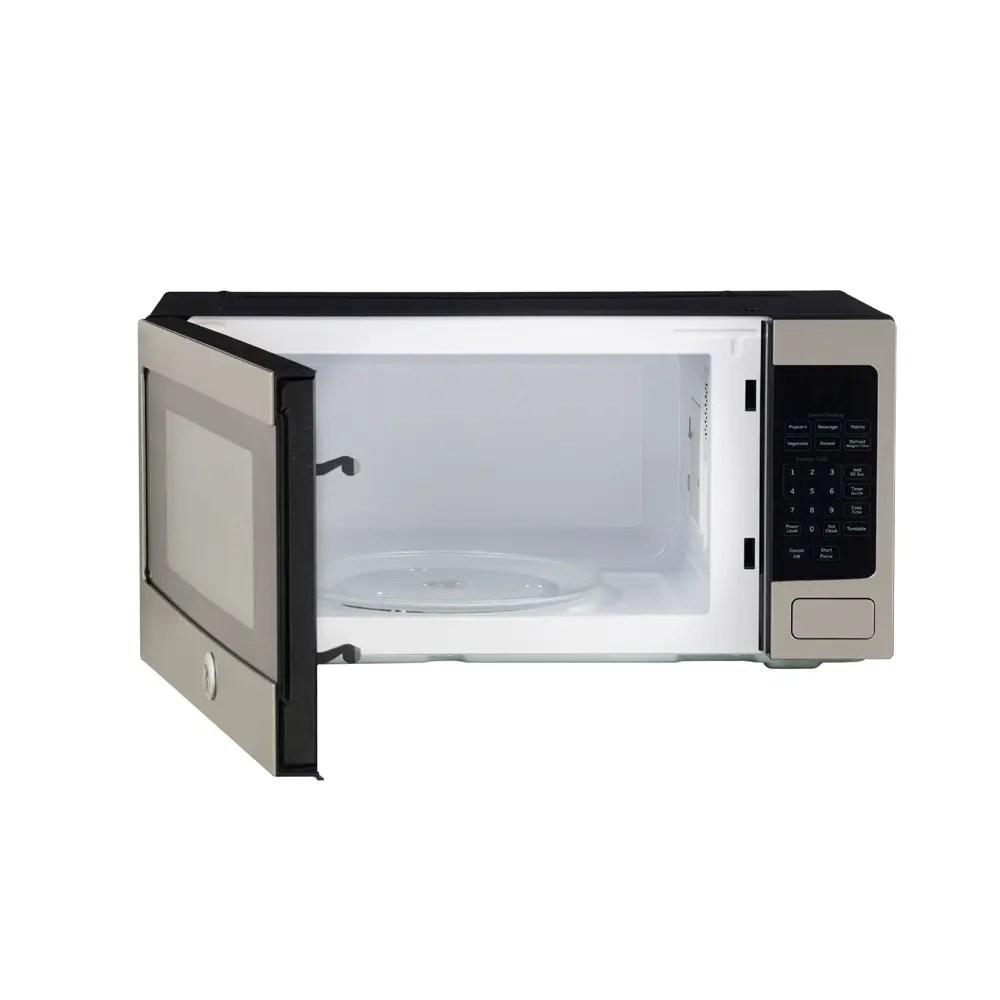 ge profile 1 1 cu ft microwave stainless steel pem10sfc