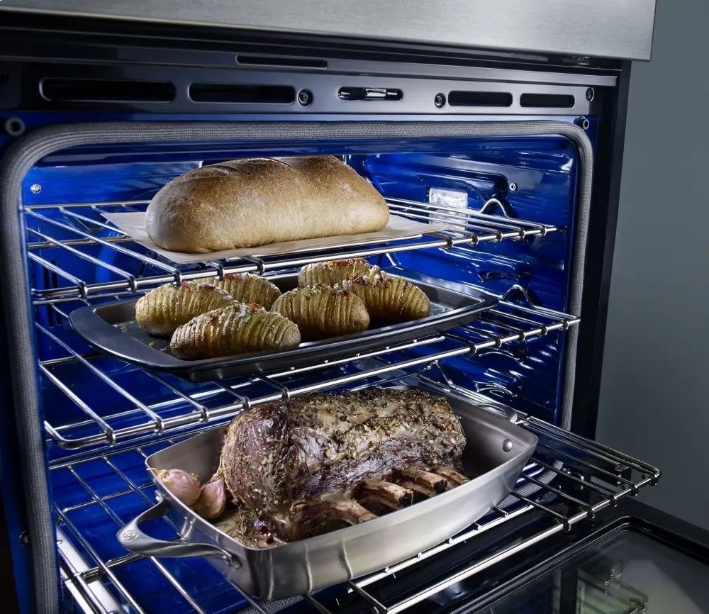 """30"""" Combination Wall Oven with Even-Heat™ True Convection (Lower Oven) - Stainless Steel Photo #3"""